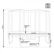 Milani Home BOING 305 - trampolino elastico per bambini