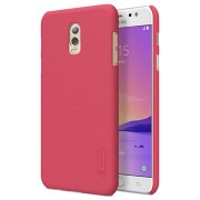 Samsung Galaxy C7 (2017) Nillkin Super Frosted Shield Cover - Rood