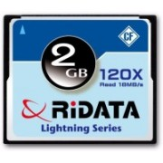 RiData Camera 2 GB Compact Flash Class 4 18 MB/s Memory Card