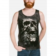 Playera 4d - Unisex 36-6247 Breakthrough Skull