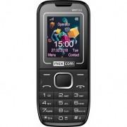 Maxcom MM135 mobiltelefon, dual sim-es kártyafüggetlen, bluetooth-os, fm rádiós fekete