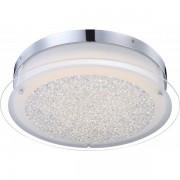 GLOBO LEAH Deckenleuchte Chrom, 1xLED - Leuchte GLOBO 49316 Klassisch Chrom LED, GLOB