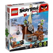 Lego Angry Bird Piggy's Pirate Ship 75825 [Parallel import goods]