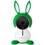 Netgear Arlo Baby ABC1000-100EUS Sistema di sorveglianza All-in-One per Bambini, Riproduzione Musicale, Sensori di Qualità dell'Aria, Temperatura e Umidità, Audio 2 Vie, Visione Notturna, Bianco
