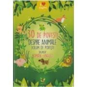 30 de povesti despre animale Roman-Englez