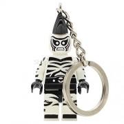 Generic Single Batman DC Figure Harley Quinn Joker Keychain Mr Freeze Aaron Cash Poison Ivy Mayor Tan Robin Building Blocks Toys Zebra Man