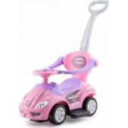 Masinuta pentru copii BabyMix Car 3 in 1 Roz