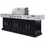 EXIM BSTNP-4 Bosston 4 Burner Outdoor Kitchen