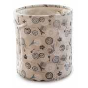Cos textil rotund HIKAPO pentru depozitare, 0188111, 35xH38cm