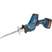 Fierăstrău sabie Bosch Professional GSA 18V- LI C, 18V, 3050 curse/min., Acumulator, Albastru, 06016A5002