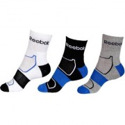 Reebok Men's Women's Ankle Length Socks - 3 Pairs