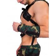 Barcode Berlin Camp Gladiator Bracelet Green/Camouflage 91341-967