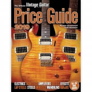 Hal Leonard The Official Vintage Guitar Magazine Price Guide 2019