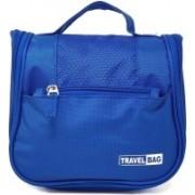 Wildmount Toiletry Bag Travel Organizer Hanger Storage Waterproof Makeup Pouch Cosmetic Travel Toiletry Kit(Blue)