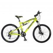 Bicicleta Benotto DS-700 Alum R26 21V Shi Tourney Fnos DDM Verde Talla:S