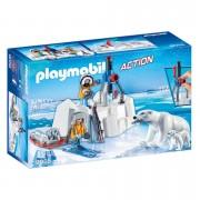 Playmobil Arctic Explorers with Polar Bears (9056)