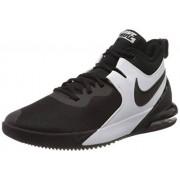 Nike Air Max Impact Zapatillas de baloncesto para hombre, Negro/negro/blanco, 8 US