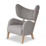 by Lassen - My Own Chair Sessel, Eiche geölt / hellgrau (Tonus 4 / 216)