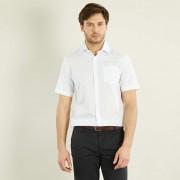 Effen overhemd recht model