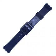 Curea ceas tip Swatch din plastic nr. 210 [17-SW35]