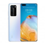 "Smartphone, Huawei P40 Pro, Dual SIM, 6.58"", Arm Octa (2.86G), 8GB RAM, 256B Storage, Android, Ice White (6901443376933)"