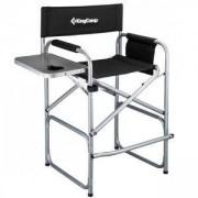 Стол за къмпинг със странична маса KING CAMP Deluxe Director, сгъваем, MAS-KC3823