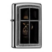 ZIPPO öngyújtó- WINDOW SKULL - ANNE STOKES - 404533021046