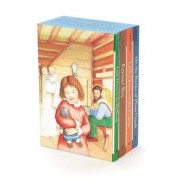 Little House 4-Book Box Set: Little House in the Big Woods, Farmer Boy, Little House on the Prairie, on the Banks of Plum Creek, Paperback