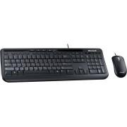 MS WD 600 - Tastatur-/Maus-Kombination, USB, schwarz