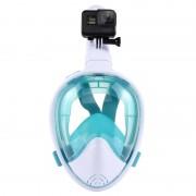 PULUZ 260mm Tube Water Sports Équipement de plongée Masque Snorkel complet pour GoPro HERO5 / 4/3 + / 3/2/1, L / XL Taille (Vert)