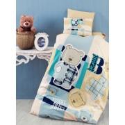 Lenjerie de pătuț copii Valentini Bianco VKB10/Sweet Bear