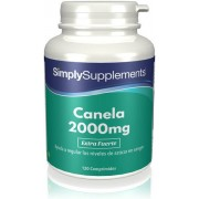 Simply Supplements Canela 2000mg - 120 Comprimidos