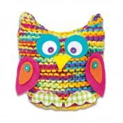 Set de tricotat creativ pentru fete Galt - Bufnita