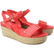 Clarks Women Coral Wedges