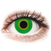 ColourVUE Crazy Lens Hulk Green - dioptria nélkül (2 db lencse)