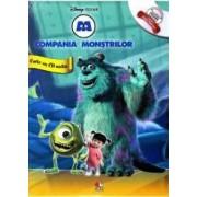 Disney - Compania Monstrilor + CD Audio Lectura Stela Popescu