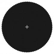 vidaXL fekete szövet ugrószőnyeg kerek trambulinhoz 4,57 m