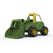 John Deere Front Loader Toy by BeginAgain - Made in the USA John Deere Tractor Sandbox Toy for 2, 3 & 4 year olds