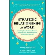 Strategic Relationships at Work: Creating Your Circle of Mentors, Sponsors, and Peers for Success in Business and Life, Hardcover/Wendy Murphy