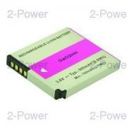 2-Power Digitalkamera Batteri Panasonic 3.6v 800mAh (DMW-BCK7)
