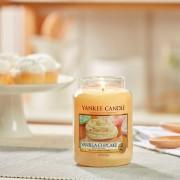 Lumanare parfumata Yankee Candle vanilla cupcake Borcan mare