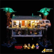 LIGHT MY BRICKS Kit for 75810 LEGO STRANGER THINGS The Upside Down