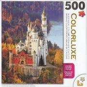 Colorluxe 500 Piece Puzzle - Neuschwanstein Castle in Autumn