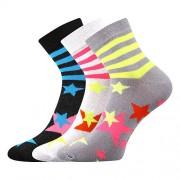 Boma 3PACK ponožky Boma vícebarevné (Jana 45) S