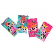PPG951-27 SET 4 NOTES POWER PUFF GIRLS