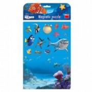 Puzzle magnetic - Nemo 17 piese