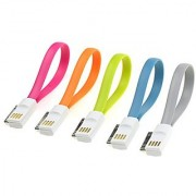 VOJO 30pin Cable i Phone Charger Do to USB Charging Cordwith Magnets Inside for Easy Paing [5 Pa] (8in / 0.2m)30p