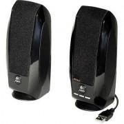 Logitech S-150 2.0 PC speaker Corded 1.2 W Black