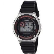 Casio Youth Digital Black Dial Mens Watch-W-216H-1CVDF (I098)