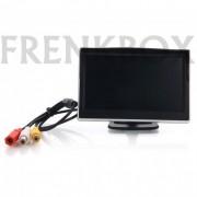"""Mini monitor retromarcia auto o videosorveglianza LCD 4,3"""" colori HD"""